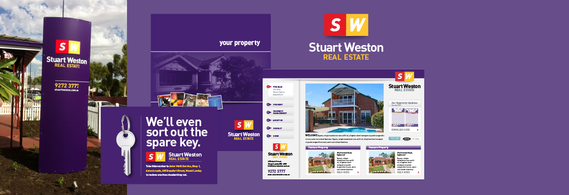 Rebranding Stuart Weston